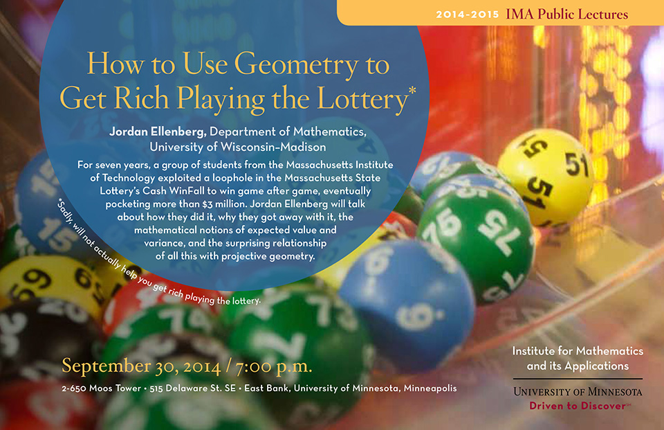How to Use Geometry to Get Rich Playing the Lottery